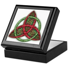 Celtic Holiday Knot Keepsake Box