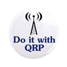 "Do It With QRP 3.5"" Button"