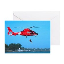 Coast Guard Chopper Greeting Cards (Pk of 20)