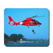 Coast Guard Chopper Mousepad