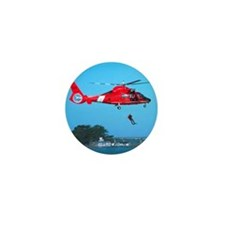 Coast Guard Chopper Mini Button (10 pack)