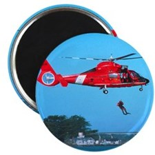 "Coast Guard Chopper 2.25"" Magnet (10 pack)"