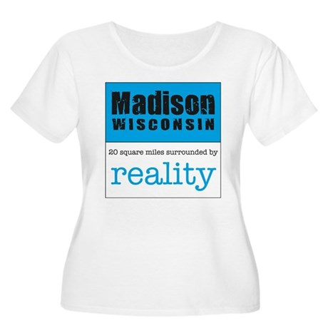 Madison Wisconsin surrounded Women's Plus Size Sc