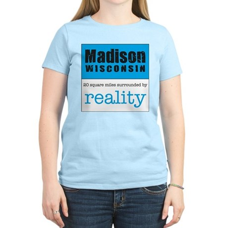 Madison Wisconsin surrounded Women's Light T-Shir
