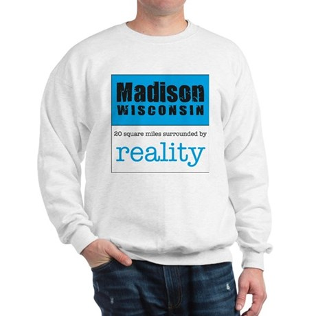 Madison Wisconsin surrounded Sweatshirt
