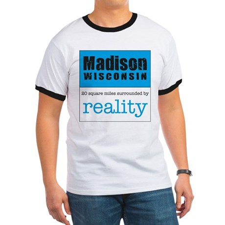 Madison Wisconsin surrounded Ringer T