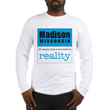 Madison Wisconsin surrounded Long Sleeve T-Shirt