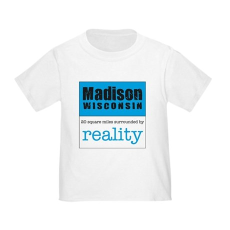 Madison Wisconsin surrounded Toddler T-Shi