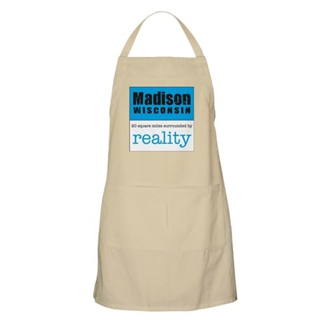 Madison Wisconsin surrounded BBQ Apron