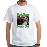 Black Man's Country Club-Gree Shirt