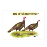 Wild Thanksgiving! Postcards (Package of 8)