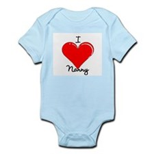 I love Nanny Infant Bodysuit