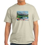 Swiss Beauty Ash Grey T-Shirt