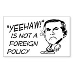 Yeehaw is Not a Foreign Bumper Sticker