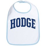 HODGE design (blue) Bib