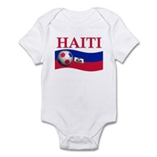 TEAM HAITI WORLD CUP Infant Bodysuit