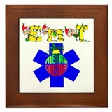 EMT Christmas Gift Framed Tile