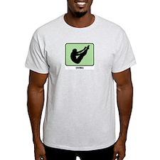 Mens Diving (GREEN) T-Shirt