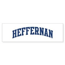 HEFFERNAN design (blue) Bumper Bumper Sticker