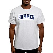 HUMMER design (blue) T-Shirt