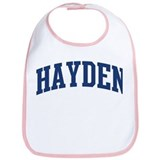 HAYDEN design (blue) Bib