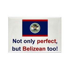 Perfect Belizean Rectangle Magnet