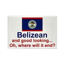 Good Looking Belizean Rectangle Magnet
