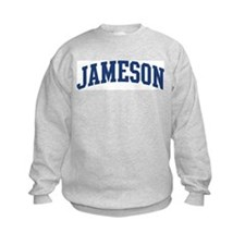 JAMESON design (blue) Sweatshirt