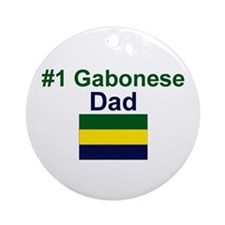Gabon #1 Dad Keepsake Ornament