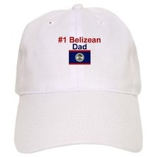 #1 Belizean Dad Baseball Cap