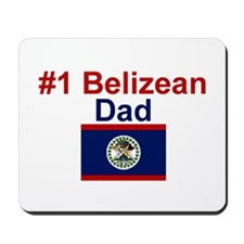 #1 Belizean Dad  Mousepad