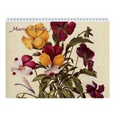 The Art of Maria Sybille Merian Wall Calendar