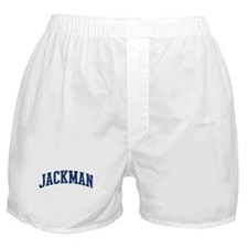 JACKMAN design (blue) Boxer Shorts