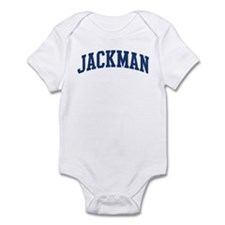 JACKMAN design (blue) Infant Bodysuit