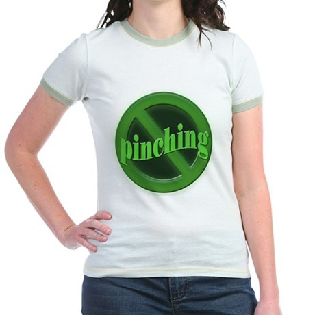 No Pinching Jr. Ringer T-Shirt