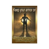 Keep Your Armor On magnet