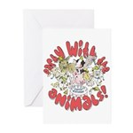 PARTY WITH THE ANIMALS Greeting Cards (Pk of 20)