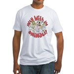 PARTY WITH THE ANIMALS Fitted T-Shirt