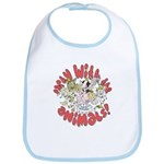 PARTY WITH THE ANIMALS Bib
