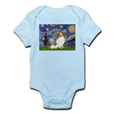 Starry Night Papillon (f) Infant Bodysuit