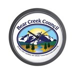 Bear Creek Council Wall Clock