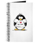 I Love My Job Penguin Journal