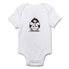 I Love My Job Penguin Infant Bodysuit