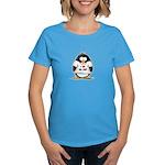 I Love My Job Penguin Women's Dark T-Shirt