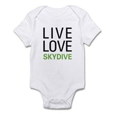 Live Love Skydive Infant Bodysuit