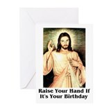 Happy Birthday Jesus Greeting Cards (Pk of 20)