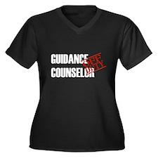 Off Duty Guidance Counselor Women's Plus Size V-Ne