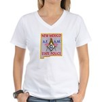 New Mexico SP Masons Women's V-Neck T-Shirt