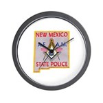 New Mexico SP Masons Wall Clock