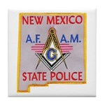 New Mexico SP Masons Tile Coaster